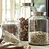 Antique Glass Canisters