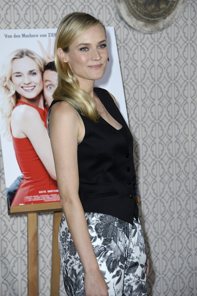 Diane Kruger stepped out for the Der Naechste, Bitte! photocall in Berlin.