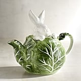 Garden Bunny Cabbage Teapot ($20 originally $25)