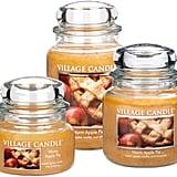 Warm Apple Pie Village Candle