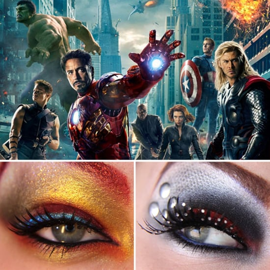 Avengers Movie-Inspired Eye Makeup