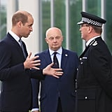 Prince William Visiting Manchester Police June 2017