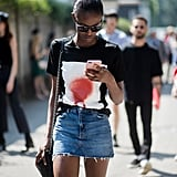 The best thing about this style is that it's totally throw on and go. Just add a t-shirt and a pair of sneakers and you're set.