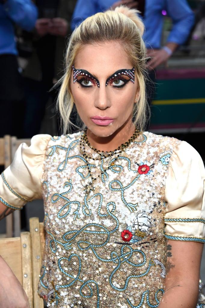 Lady Gaga at Tommy Hilfiger Spring 2017 Fashion Show