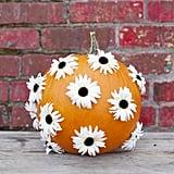 Flower Polka Dots Pumpkin
