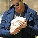 Chris Hemsworth became a dad to daughter India Rose, who was born in May 2012.