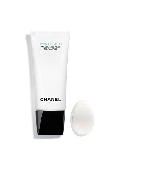 Chanel Hydra Beauty Masque De Nuit Au Camélia Hydrating Oxygenating Overnight