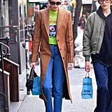 Kaia Gerber in New York