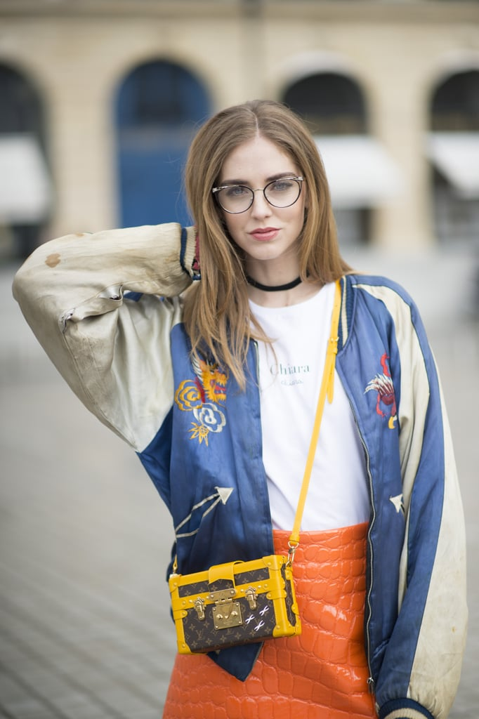 This gal knows a thing or two about killer street style.