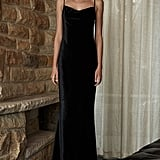 Dawn Bias Slip Maxi Dress, $280