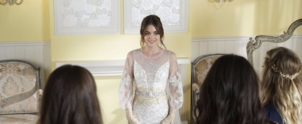 Let's Take a Moment to Admire Aria's Vintage Wedding Dress on Pretty Little Liars