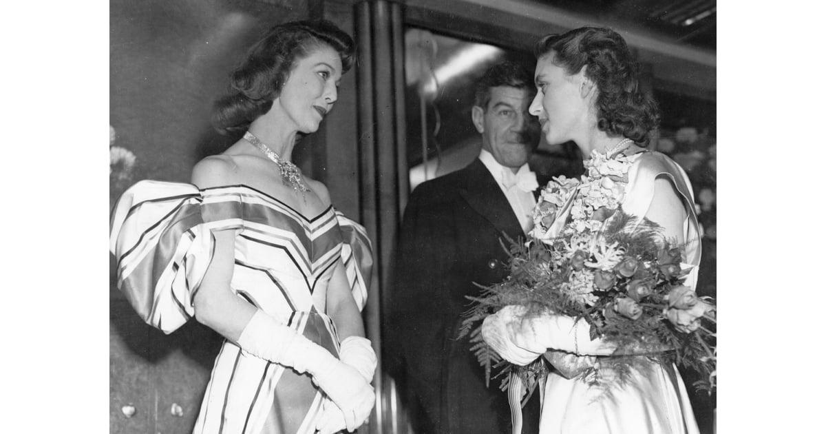 Loretta Young 1947 Princess Margaret Meeting The Biggest