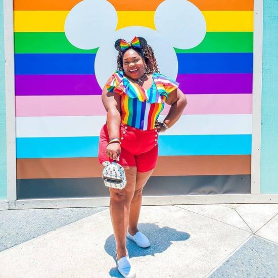 See the Pride Photo Walls and Mural at Disney Springs