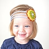 Wool Felt Flower Headband