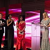 Nick Ede, Alesha Dixon, Maria Bravo and Lucy Bruce