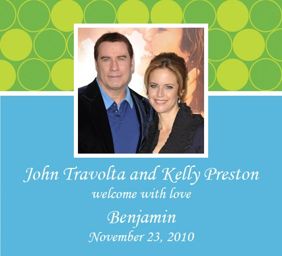 John Travolta Welcomes Baby Benjamin