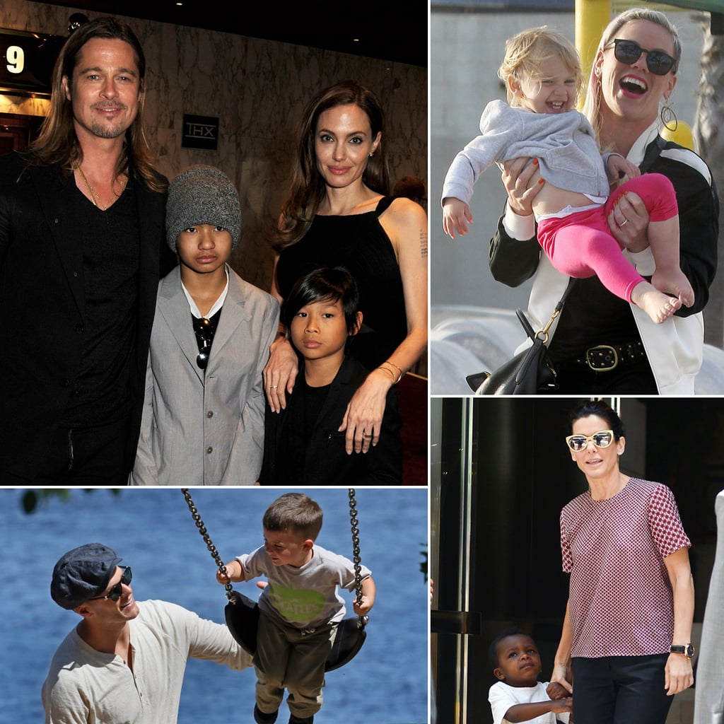 Pictures of celebrity families