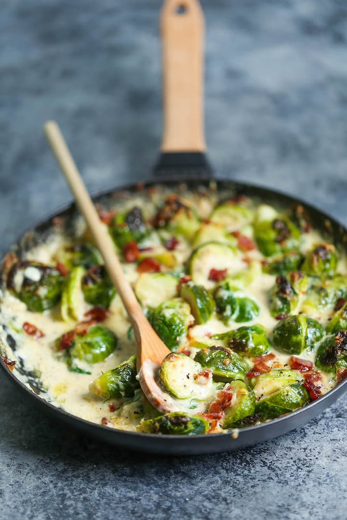 Brussels Sprouts Gratin | Holiday Side Recipes | POPSUGAR ...