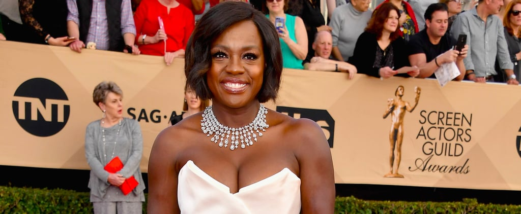 Viola Davis's Vivienne Westwood Dress at the 2017 SAG Awards