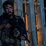 Krasinski has his guns out, and we're not talking about his weapon.