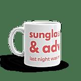 Sunglasses and Advil Coffee Mug