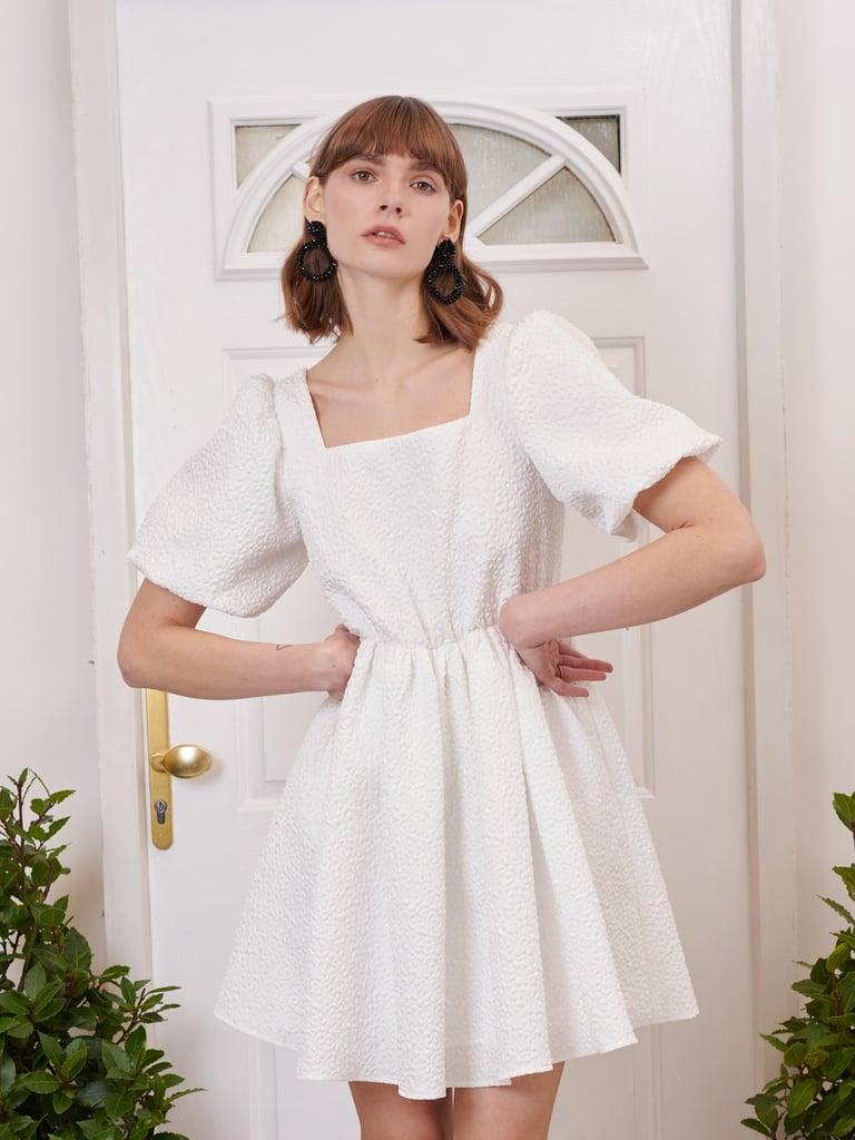 Sister Jane Compose Jacquard Mini Dress