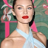 Candice Swanepoel at The Green Carpet Fashion Awards 2019