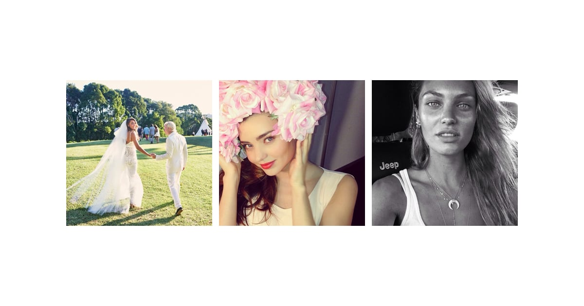 Celebrity Style Beauty Instgram Miranda Kerr Instagram Popsugar Fashion Australia