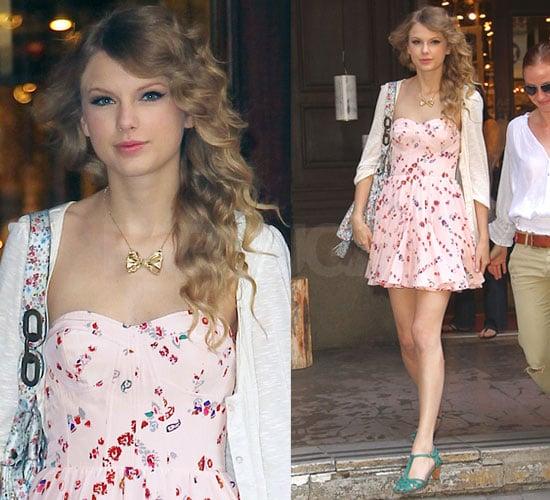 Taylor Swift Wears Rebecca Taylor Dress In Nyc Popsugar