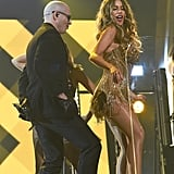 "When Sofia Vergara Joined Pitbull on Stage For a Hot Performance of ""El Taxi"" at the Grammys"