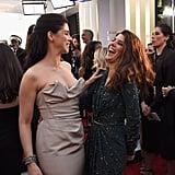 Pictured: Marisa Tomei, Sarah Silverman