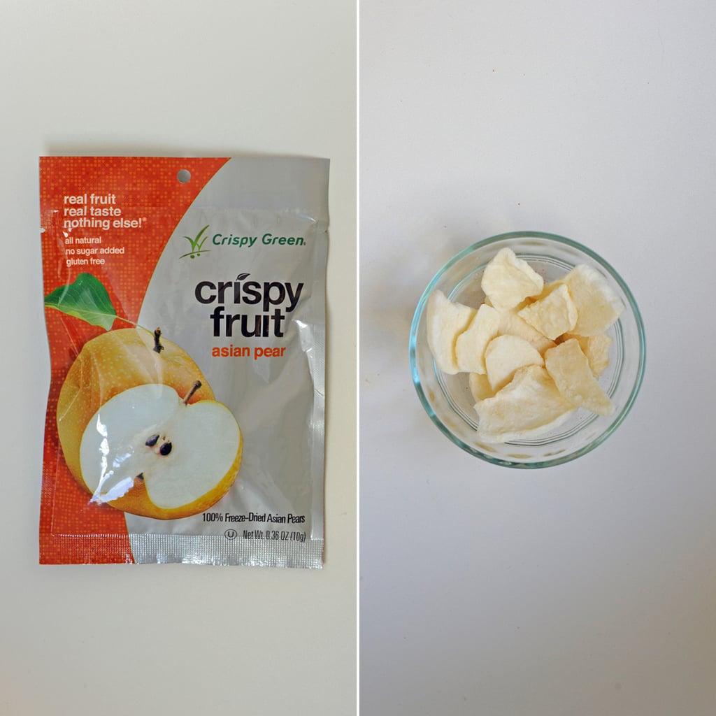 Crispy Green Asian Pear Crispy Fruit