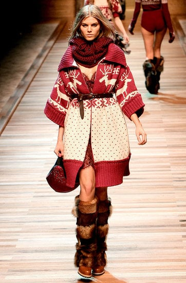 Milan Fashion Week, Fall 2010: D&G's Alpine Sizzle