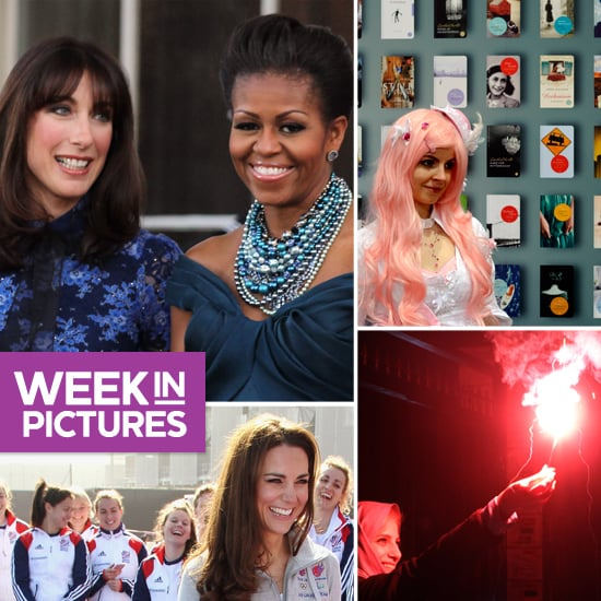 Kate Plays Hockey, First Ladies Go Glam, and World Celebrates Spring