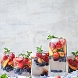 Rainbow Coconut Water Mocktail Spritzer