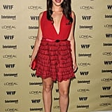 At that same party, Jessica Lowndes opted for a flirty red number. While I adored Anna Paquin's red Preen too, this frock fed my whimsical side.