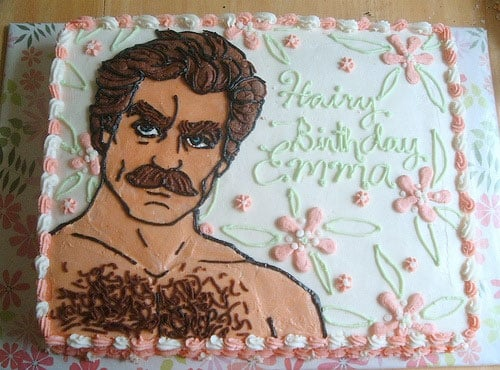 Tom Selleck Birthday Cake