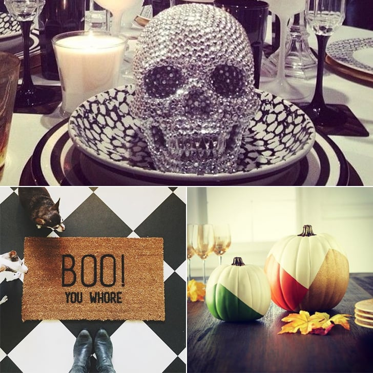 18 Times Real Girls Nailed Glamorous Halloween Decor