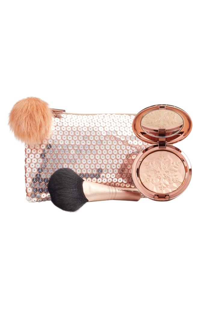 MAC Cosmetics Snow Ball Peach Face Bag Collection