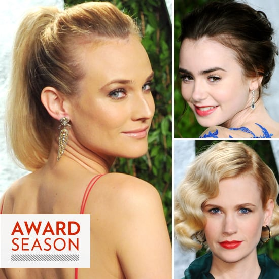 Celebrity Beauty Looks From the Vanity Fair Oscars After Party