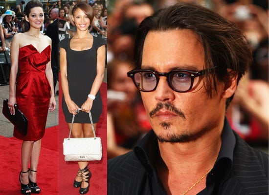 Photos From Public Enemies European Premiere In London, Featuring Johnny Depp, Marion Cotillard, Jamie Campbell Bower