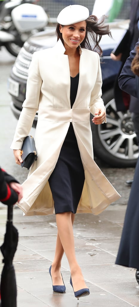 Meghan Wearing Tights at a Commonwealth Day Service in March 2018