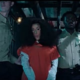 "Cardi B's Voluminous Hair in ""Press"" Music Video"