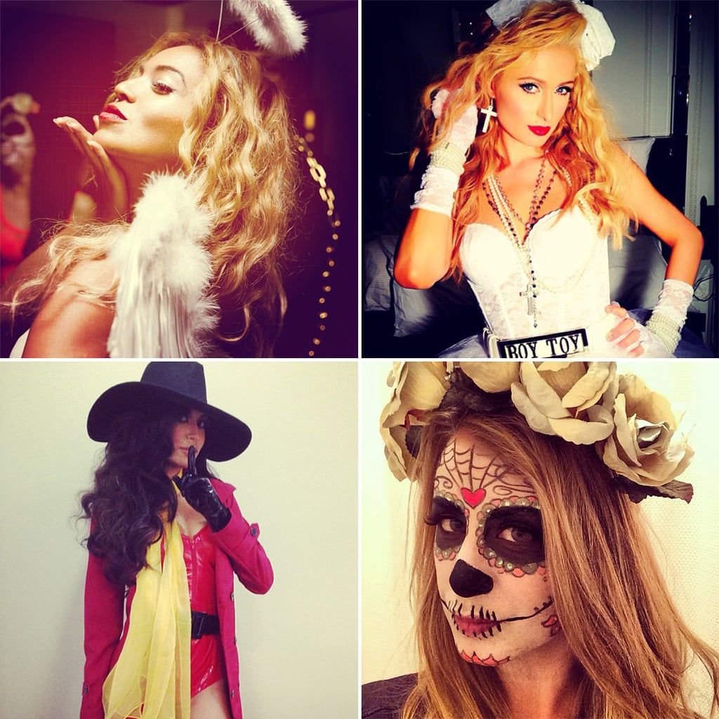 Celebrity instagram halloween