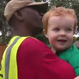 Little Boy Says Goodbye to His Best Friend the Garbage Man