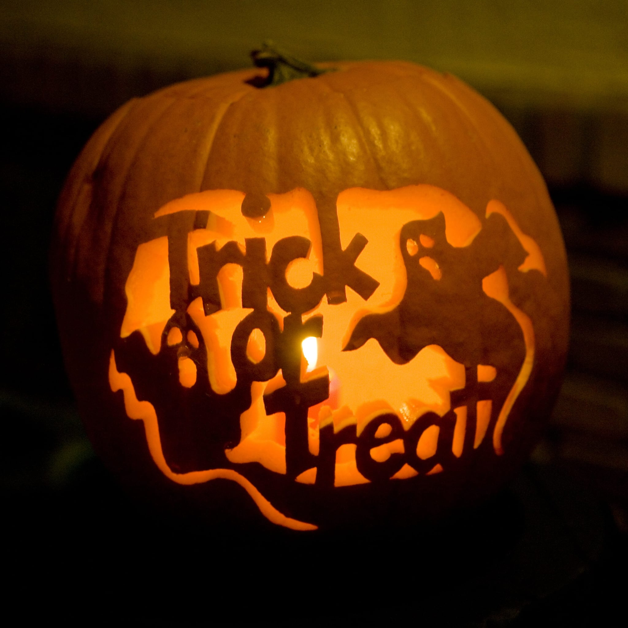 Pumpkin Carving Stencils Popsugar Smart Living