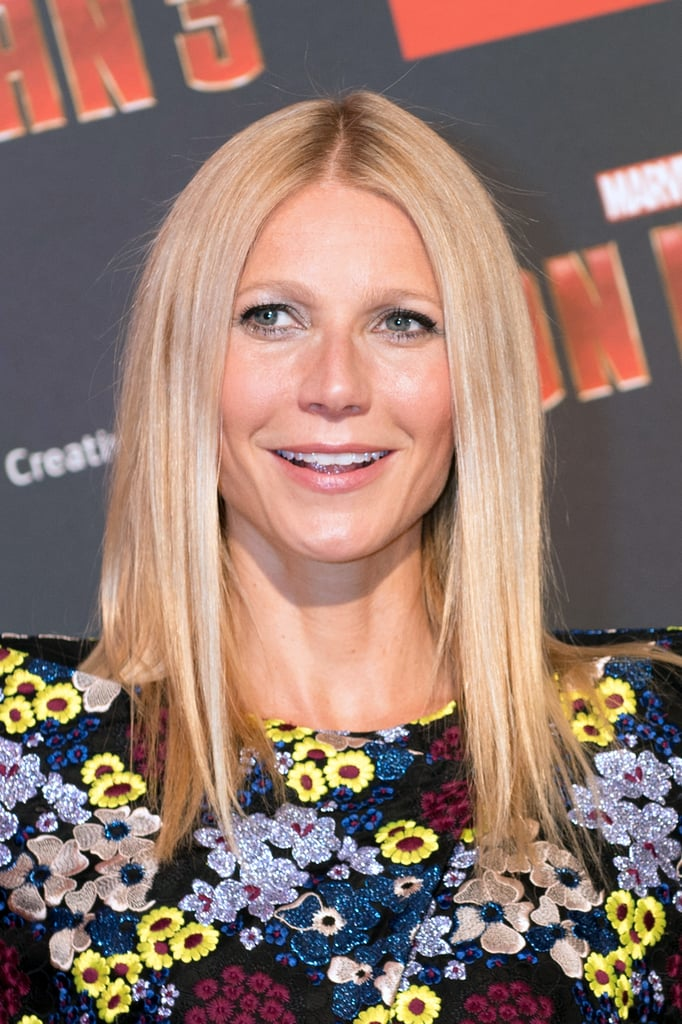 This year, Gwyneth has been touring on the Iron Man 3 promotional circuit. Even though there is nothing extravagant about her beauty look, she exudes confidence and natural beauty at every turn.