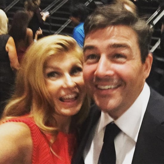 Connie Britton and Kyle Chandler at the Emmys 2016