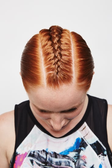 How to Do a Mohawk With a Braid