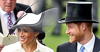 Meghan Markle's Royal Ascot Hat Is the Most Glamorous Thing We've Ever Seen